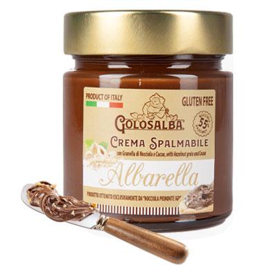 albarella-crema-spalmabile-nocciole-piemonte-igp